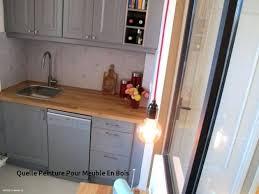 peinture pour element de cuisine with quelle peinture pour meuble cuisine meuble de cuisine bois of