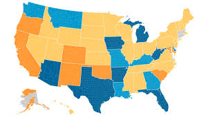 Marijuana Legalization Map Doing More With Less State Revenue Limitations And Mandates On