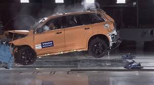 xc90 test drive 2015 volvo xc90 crash test footage reveals a very tough cookie