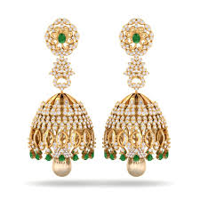 jhumka earring the kreeli jhumka earrings diamond earrings at best prices in