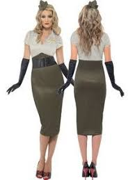 Army Halloween Costume Women Army Military Pinup Costume Size Pin Girls