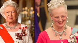 royal style queen elizabeth ii and queen margrethe of denmark
