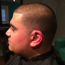 even all over haircut with temple fade on hispanic hair my hair