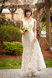 vintage wedding dresses uk vintage keyhole lace mermaid wedding dress