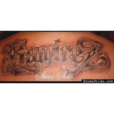 brownpride com photo gallery ramirez tattoo by steve soto