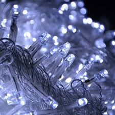 led icicle lights cool white super bright led icicle lights christmas xmas string light for
