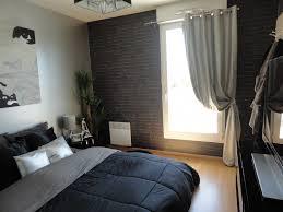 chambre gris et noir chambre gris noir et blanc chambre moderne noir et
