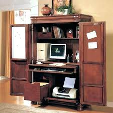 Computer Armoire Desk Cabinet Computer Armoire Desk Cabinet Office Ikea Furniture White