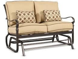 Retro Glider Sofa by Furniture Awesome Porch Gliders To Enhance Your Outdoor Decor