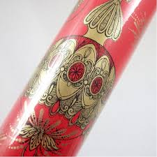 vintage christmas wrapping paper rolls norcross christmas ornaments vintage wrapping paper roll