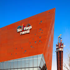 Johns Flags Riverside First Six Flags Branded Theme Parks In China Are The Highlight Of