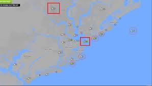 Jekyll Island Map Marine Layering Effects Start In The Se Region U2013 Blog Weatherflow Com
