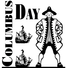 columbus day clip art free template