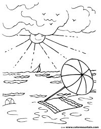 summer coloring fun create a printout or activity