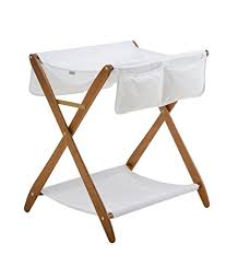 Folding Changing Tables Cariboo Folding Changing Table Teak Bassinets Baby