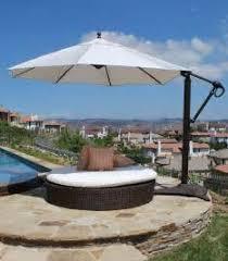 Big Patio Umbrellas by Patio Large Patio Patio Umbrellas Outdoor Spaces Patio Ideas