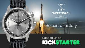 watches made of space rockets the earth collection for kickstarter