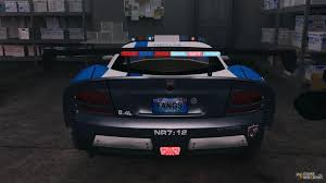 Dodge Viper Automatic - dodge viper srt 10 acr elite police els for gta 4