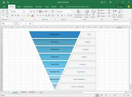 Excel Sales Templates Sales Funnel Template For Excel
