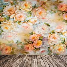 digital backdrops studio background colorful flowers theme photographic props