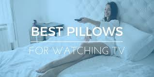 tv bed pillow best pillows for sitting or watching television in bed 2017 reviews