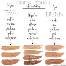 younique foundation color matching guide find your color