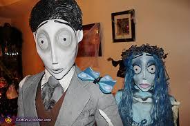 Zombie Bride Groom Halloween Costumes Homemade Corpse Bride Groom Couple Costume Photo 5 5