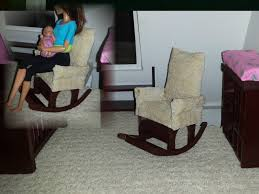Pink Nursery Rocking Chair by How To Make A Doll Nursery Rocking Chair Youtube