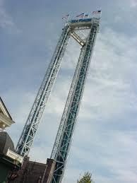 Six Flags Height Six Flags New England Scream Tower Mapio Net