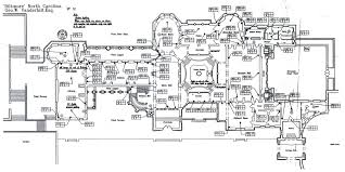 first floor plan of the biltmore house biltmore estate