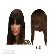 clip in fringe human hair extensions clip in front inclined fringe 06