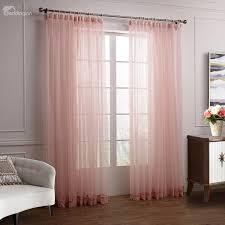 Soft Pink Curtains Wonderful Lovely Pink Cinderella Custom Sheer Curtain