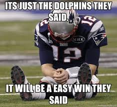 They Said Meme Generator - its just the dolphins they said it will be a easy win they said