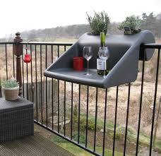 Balcony Banister Make The Most Of Your Small Balcony U2013 Top 15 Accessories