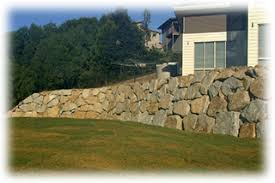 boulder walls brisbane retaining wall construction