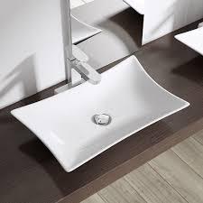 design aufsatzwaschbecken design aufsatzwaschbecken aus keramik bth 56 5 x 37 5 8 5
