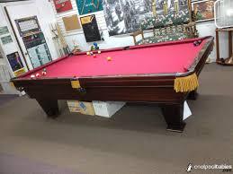 brunswick used pool tables used 9 brunswick 1985 ventura pool table coolpooltables com