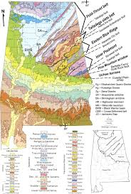 alabama zone map geologic map of alabama geology alabama and geology