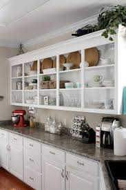 Remove Kitchen Cabinet Open Shelving In The Kitchen