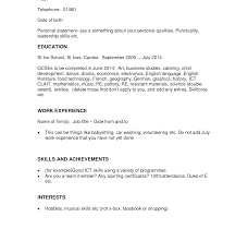 job resume sle for high students work experience resume sle india restaurant no high