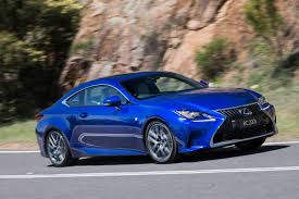 blue lexus 2017 lexus rc review