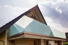 balkon glasscheiben glas de balkonbrüstung