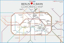 Berlin Metro Map by Berlin Based Companies