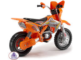 wheels motocross bikes injusa motocross thunder max vx 12v