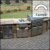 outdoor kitchen island outdoor kitchens bbq islands woodlanddirect gas grills