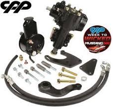 66 mustang power steering 1965 66 ford mustang 400 series power steering conversion kit ebay