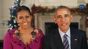 watch the obamas u0027 final white house holiday message nbc news