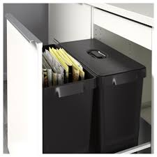 Kitchen Cabinet Recycle Bins by Variera Recycling Bin Ikea