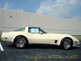 1981 white corvette 1981 corvette for sale at buyavette atlanta