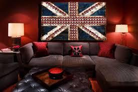 London Flag Union Jack Flag Weathered Distressed Wood Flag Limited Edition